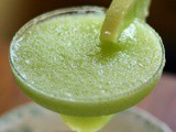 Honeydew Margarita Frozen Cocktail Recipe