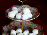 Lavender White Chocolate Truffles