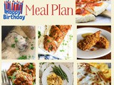 Meal Plan 17: April 16- 22