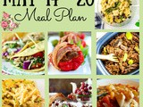 Meal Plan 21: May 14 -20