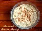 Old Fashioned Homemade Banana Pudding Recipe