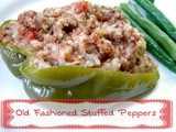 Old Fashioned Stuffed Bell Peppers