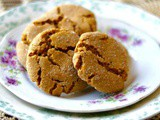 Peanut Butter Molasses Cookies: Crispy Chewy Crinkles