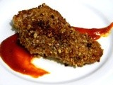 Pecan Crusted Chicken with Jack Daniels bbq Sauce