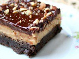 Pecan Toffee Cookie Dough Brownies