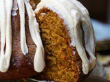 Pumpkin Bundt Cake with Bourbon Brown Butter Glaze