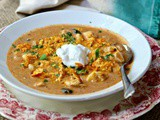 Quick Dinner Ideas: Cheesy Chicken Enchilada Soup