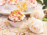 Rose Gold Velvet Cupcakes Recipe: Wish on a Star