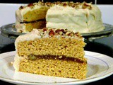 Southern Caramel Cake with Jack Daniels Caramel Buttercream