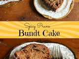 Spicy Prune Bundt Cake Recipe
