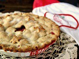 Strawberry Rhubarb Pie: Country Fresh Flavor