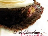 Super-Moist, Super Dark, Chocolate Cupcakes
