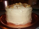Tropical Carrot Cake with Coconut Cream Cheese