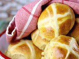 White Chocolate Hot Cross Buns Recipe – No Raisins