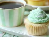 White Cupcakes Recipe with Cream Cheese Icing