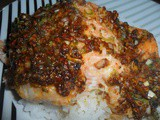 Cajun Spiced Salmon with salted Lime Butter
