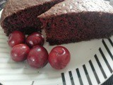 CarolCooks2…a Vegan Chocolate Cake, Braised Pork Shoulder in Black Vinegar and Yanang Juice
