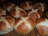 CarolCooks2…This week in my kitchen…Cheesecake, Bombay Potatoes and Chicken Stew…and Hot Cross Buns
