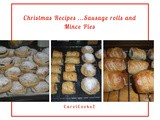 Christmas Recipes…Mince Pies and Sausage Rolls