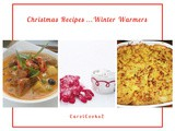 Christmas Recipes…Winter Warmers