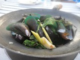 Fish Friday!……Beautiful Thai Steamed Mussels