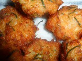 Fish Friday…Thai shrimp cakes and Thai sweet chilli sauce recipe