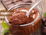 National Mousse Day…Yet another one