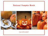 National Pumpkin Month…All things Halloween