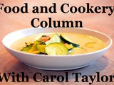 Smorgasbord Blog Magazine – The Food and Cookery Column with Carol Taylor – Chicken Kiev Multi-coloured Chicken Breast and Apple and Mulberry Crumble