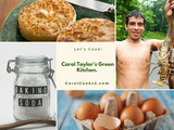 Smorgasbord Food Column – Carol Taylor's Green Kitchen – #Crumpets, #Baking Soda, #Minced Garlic and Egg Boxes uses. — Smorgasbord Blog Magazine