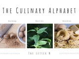 The Culinary Alphabet…The letter n…Nutmeg, Nettles and Noodles