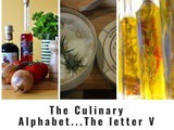 The Culinary Alphabet…The letter v