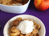Apple Crumble with Walnuts
