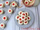 Candied Cherry Cookie