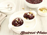 Easy Beetroot Halwa (Vegan)