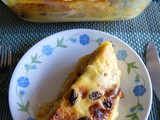 Eggless Bread and Butter Pudding