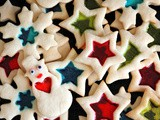 Eggless Cream Cheese Stained-glass Sugar Cookie