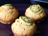 Jalapeno Corn Muffin (Vegan)