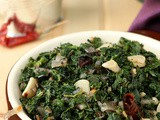 Kale Poriyal (Indian Style Sauteed Kale)