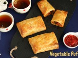 Mixed Vegetable Puff