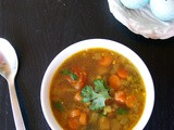 Mixed Vegetable Soup (Indian Style)