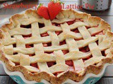 Strawberry Lattice Pie (Vegan)