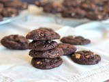 Chewy Chocolate with Peanut Butter Chip Cookies