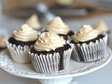 Chocolate Cupcake with Caramel frosting