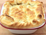 Guinness Beef Stew Puff Pastry Pie