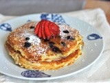 Recipe: Buttermilk Blueberry Pancake