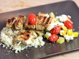 Recipe: Grilled Chicken Souvlaki