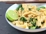 Recipe: Tofu and Kai lan (Chinese Broccoli) Flat rice noodle