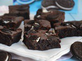 Brownies Oreo