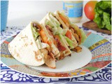 Piadina club sandwich